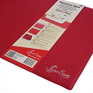 Sew Easy ER905.RED | Sewing Machine Slip Reduction Mat | 40 x 60cm