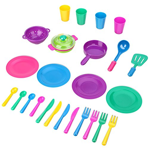 Peradix Set Accessori Cucina Bambini Piatti Pentole Tazzine ...