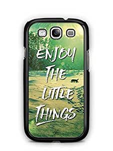 YuBingo Enjoy The Little Things Designer Mobile Case Back Cover for Samsung Galaxy S3