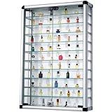Escaparate Colectivo de aluminio y vidrio con cerradura 60 x 94 cm