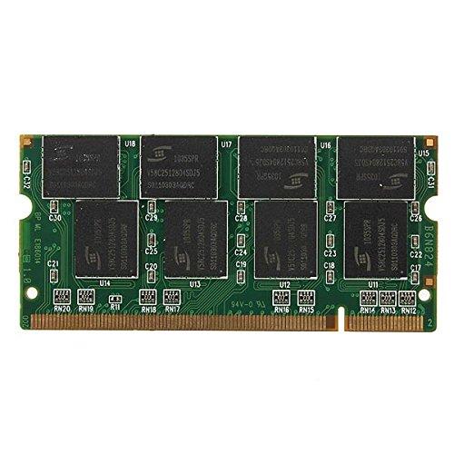 1GB DDR-266 PC2100 non-ECC SODIMM Memoria RAM KIT 200-Pin per il computer (Ddr Sdram A 266 Mhz)