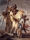 Lais Puzzle Giovanni Battista Tiepolo - Aenaeas Präsentiert Dido, Königin von Libyen und Erbauerin Karthagos 200 Teile