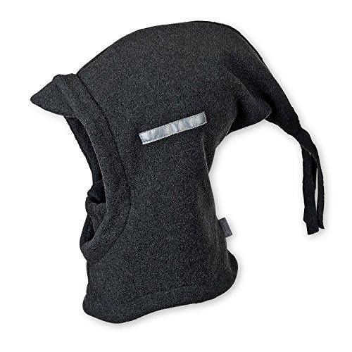 STERNTALER Schalmütze Zipfel Baby-Kopfbedeckung, Größe 53, grau