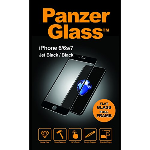Image of PanzerGlass iPhone 6/6s/7/8 Jet Black/Bl Displayschutz