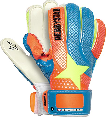 Derbystar Basic, 5, blau orange weiß, 2675050000