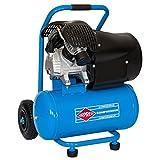 Airpress Compressore mobile ad aria compressa 3 PS max. 8 bar, 24 l, capacità di aspirazione 392 l/min, oliata