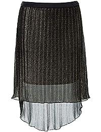 138247 in Schwarz Multi 32//34 Damen Shirtrock mit verdecktem Reißverschluss