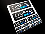 PEGATINAS GO PRO BIKE MOTO COCHE ECO23 STICKERS AUFKLEBER VINILOS ADESIVI DECALS COLORES GO PRO/GO PRO COLORS