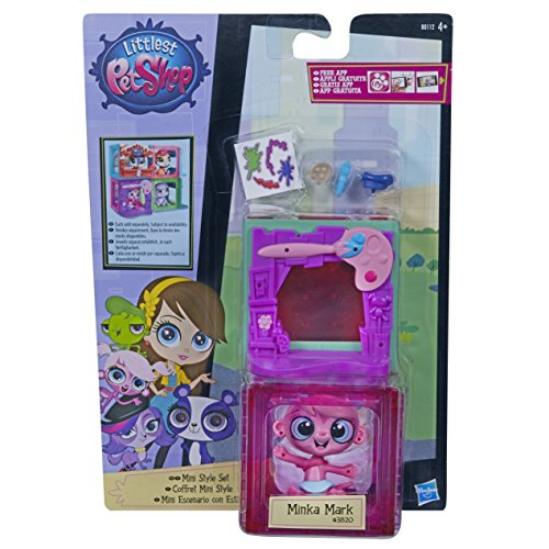Littlest Pet Shop Mini Style Set with Zoe Trent Figure by Littlest Pet Shop