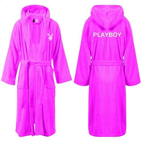 playboy-bunny-womens-rosa-jenny-mit-kapuze-fleece-bademantel-damen-frottee-erwachsene-bademantel-bad