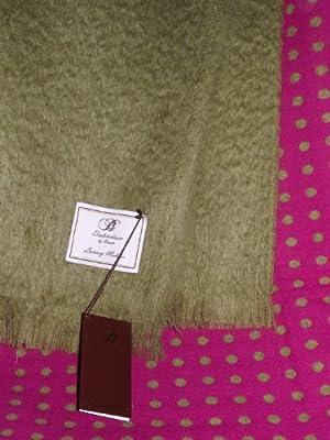 bronte hazel verde manta de mohair