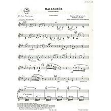 Ernesto Lecuona: MALAGUENA–Akkordeon 2Teil–Sheet Music