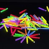 50mini Mutila Barras luminosas | picada Glow Stick | Party luces Neon | Rojo Amarillo Verde Rosa Naranja Azul | Premium luces, muchos muchas horas para gran Alegría | Deutsche Marca molinorc | Express Envío BRD