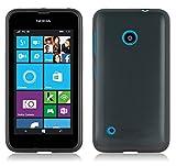 Nokia Lumia 530 Silikon-Hülle in SCHWARZ von Cadorabo -