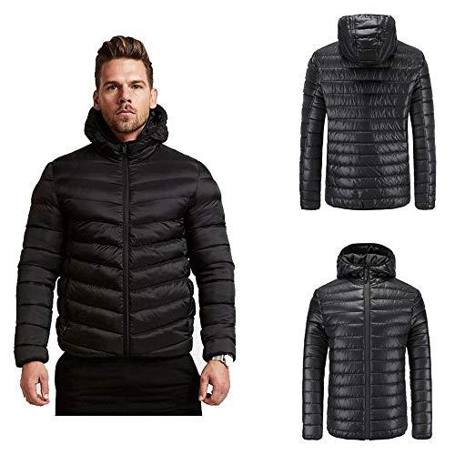 Hommes Coton Stand Zipper Chaud Hiver Veste Manteau Épais Sweatshirt Poche Top Combinaison Sport Survêtement Classique