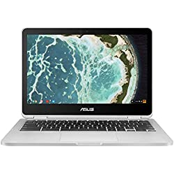 "ASUS C302CA-DH54 Flip 12.5"" Touchscreen Convertible Chromebook Intel Core m5, 4GB RAM, 64GB Flash Storage"