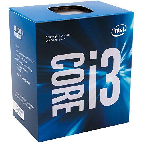 Intel BX80677I37100-51W Core i3-7100 Kaby Lake de Doble núcleo a 3.9 GHz LGA 1151, procesador de Escritorio Intel HD Graphics 630