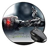 Dragon Age 3 Inquisition B Mauspad Round Mousepad PC