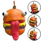 TianranRT Cosplay Durr Burger Maske Schmelzen Gesicht Latex Kostüm Halloween Scary Maske Spielzeug