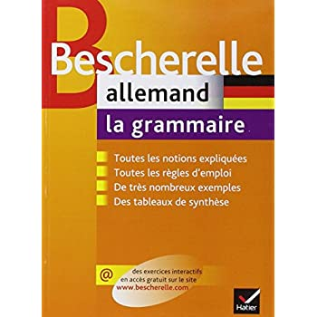 Allemand : La grammaire
