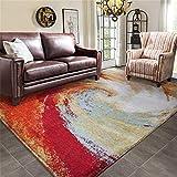 carpet Waschbar Waschbar Haltbar Teppich Super-Qualität Soft Lounge Modern Schlafzimmer Shop Couchtisch Schlafsofa Home Wohnzimmer Slip Nicht Reizende Teppich Home Daily, 120 * 180 cm
