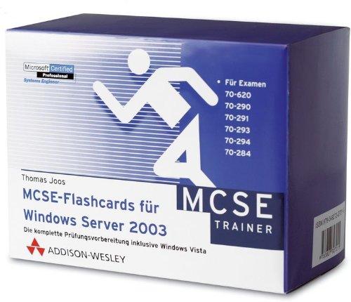 MCSE-Flashcards für Windows Server 2003 par Thomas Joos
