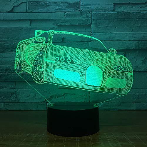 immung LED USB Tischlampe Race Form Nachtlicht Festival Weihnachten Kind Geschenk Dekoration Schutz Augenlicht ## 6 ()