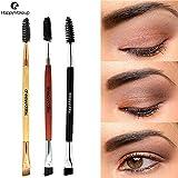 Set de pinceaux de maquillage Pinceaux Sets1pcs beauté maquillage manche en bois brosse à sourcils byJMETRIC