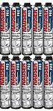 10 Mousses expansives polyuréthane 750 ml pour Pistolet