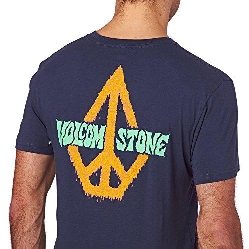 Herren T-Shirt Volcom Sludgestone BSC T-Shirt Blue