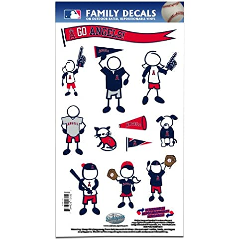 MLB Los Angeles Angels Medium Family Decal Set