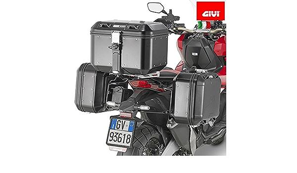 Givi Pl1156 Seitenkoffer Träger Stahlrohr Schwarz 40 Auto