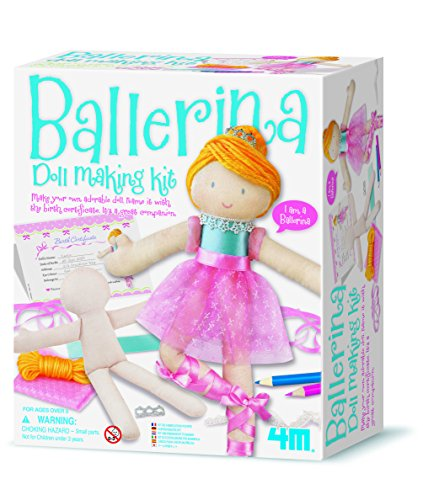 4M - Ballerina Doll Making Kit, muñeca (004M2731)