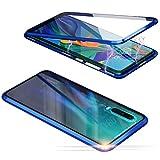Jonwelsy Funda para Huawei P30 Pro, Adsorción Magnética Parachoques de Metal con 360 Grados...