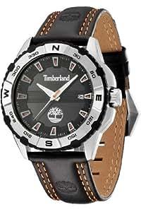 Timberland - TBL.13897JS/02 - Shoreham - Montre Homme - Quartz Analogique - Cadran Noir - Bracelet Cuir Noir