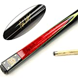 BCE Two Piece RED Mark Selby Heritage Matching Ash Snooker Pool Cue - HER-200 - BCE - amazon.co.uk