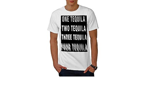 Avaler Ver Tequila T SHIRT FUNNY Mexique Cruise Shots pour homme Tailles S à 6XL