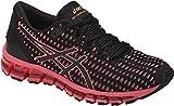 Asics Womens Gel-Quantum 360 Running Shoe Shift Black/Flash Coral/Black Size 5