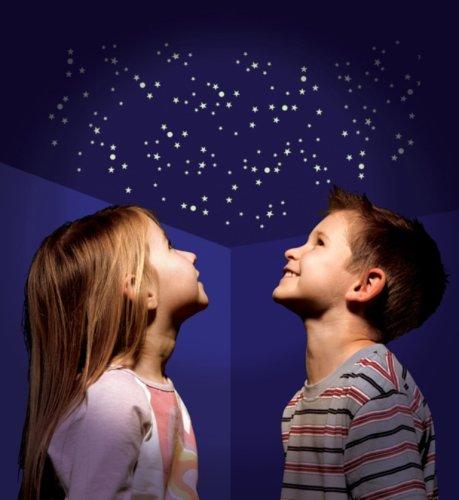 The Original Glowstars - Estrellas adhesivas que brillan en la oscuridad (1000 unidades)