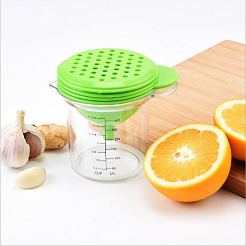 Manuell, Multifunktional, Kunststoff, Mini, Home, Portable, Juice Extractor/Juicing Cups, Ei Separator, Trichter, Messbecher, Hilfsnahrung, Schleifgerät, Korrosionsbeständig, Leicht Zu Reinigen, Schreddern Maschine