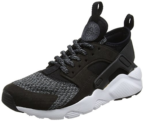 Nike Unisex-Kinder Air Huarache Run Ultra SE (GS) Sneaker, Schwarz (Black/Black-Anthracite-Cool Grey), 36 EU (Schuhe Jungen Se)