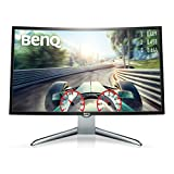 BenQ EX3200R - Monitor Curvo Gaming de 31.5' (FHD 144 Hz, Low Blue Light, Flicker-free, HDMI, Display Port) Color Negro y Gris