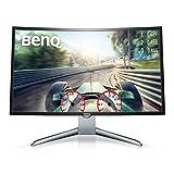 BenQ EX3200R 80,01 cm (31,5 inch) Full HD Curved Gaming Monitor (HDMI, 1800R, Low Blue Light, Flicker-Free, Display Port, 144Hz)