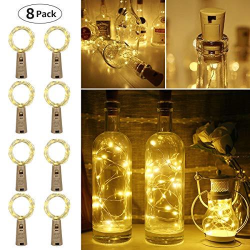 Netto Weihnachtsbeleuchtung.Le Led Lichterkette Draht Lichterkette Wasserdicht 2m Flaschenlicht Ideale Weihnachtsbeleuchtung Für Außen Innen Zimmer Party Deko