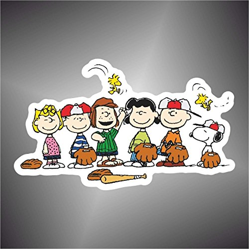 Aufkleber - Sticker Snoopy Charlie Brown Peanuts comics cartoon sticker