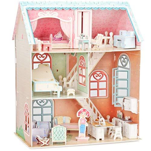 Cubicfun 3D Puzzle Pianists Home Dollhouse P684H 105 Pieces