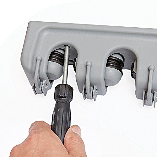 Besen Aufhängen ᐅ newdora gartenwerkzeug besen mop halter gerätehalter
