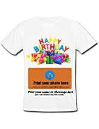 6f16ff019 Sprinklecart Kids Happy Birthday T Shirt - Personalized Tee for Kids