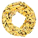 BIOWORLD Pokémon Pikachu All Over Print Infinity Viscose Scarf by bioWorld