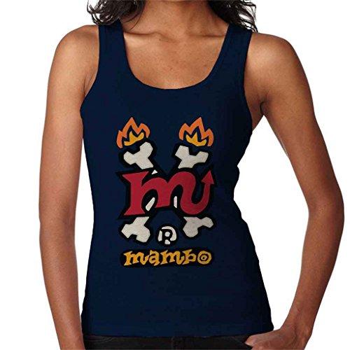 Mambo Devil Tail Women's Vest Navy blue